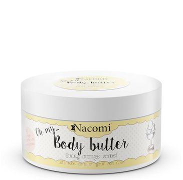 Nacomi Body Butter – masło do ciała Pomarańczowy Sorbet (100 ml)