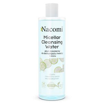 Nacomi Micellar Cleansing Water płyn micelarny do demakijażu twarzy i oczu łagodzący (400 ml)