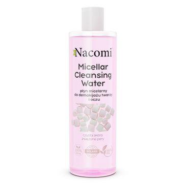 Nacomi Micellar Cleansing Water płyn micelarny do demakijażu twarzy i oczu zwężający pory (400 ml)
