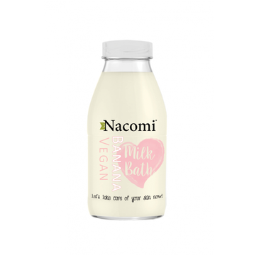 Nacomi Milk Bath – mleko do kąpieli Banana (300 ml)