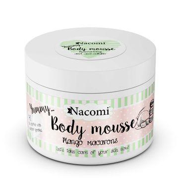 Nacomi Body Mousse – mus do ciała Makaroniki Mango (180 ml)