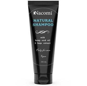 Nacomi Natural Shampoo – naturalny szampon dla mężczyzn (250 ml)