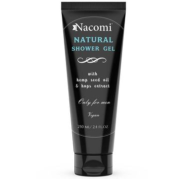Nacomi Natural Shower Gel – naturalny żel pod prysznic dla mężczyzn (250 ml)