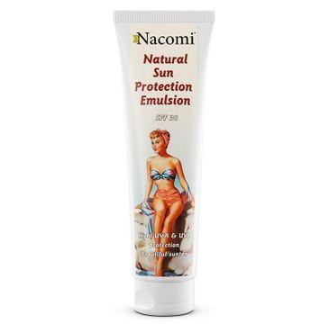 Nacomi Natural Sun Protection Emulsion SPF30 – emulsja do opalania (150 ml)