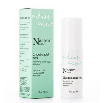 Nacomi Next Level – serum z kwasem glikolowym 10% (30 ml)