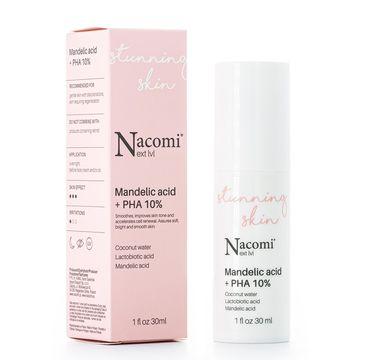 Nacomi Next Level – serum z kwasem migdałowym i kwasem PHA 10% (30 ml)