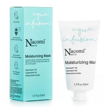 Nacomi Next Level Nawilżająca maska do twarzy (50 ml)