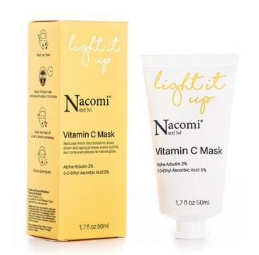 Nacomi Next Level Rozjaśniająca maseczka do twarzy z witaminą C (50 ml)