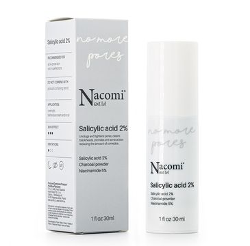 Nacomi Next Level – serum z kwasem salicylowym 2% (30 ml)