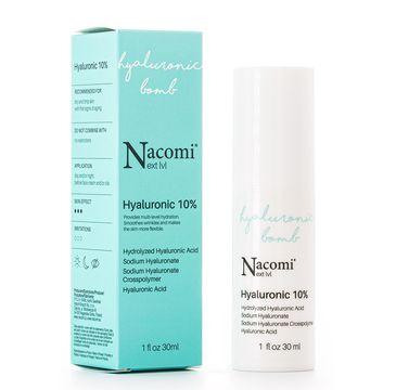 Nacomi Next Level – serum z kwasem hialuronowym 10% (30 ml)