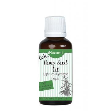 Nacomi – olej z konopi indyjskiej nierafinowany (50 ml)