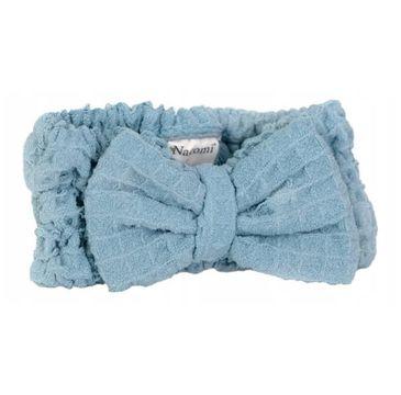 Nacomi Opaska do włosów z mikrofibry Blue (1 szt.)