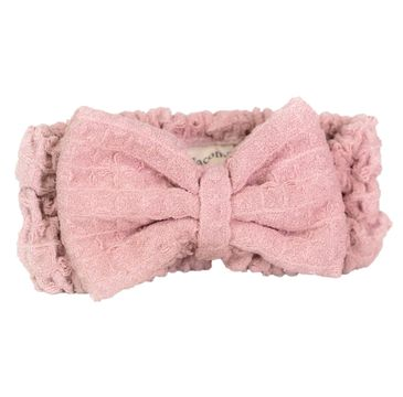 Nacomi Opaska do włosów z mikrofibry Pink (1 szt.)