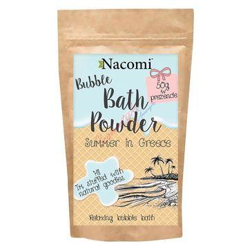 Nacomi Bath Powder – puder do kąpieli Summer in Greece (150 ml)