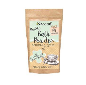 Nacomi Bath Powder – puder do kąpieli Refreshing Green Tea (150 ml)