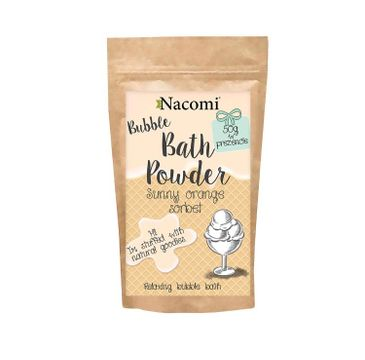 Nacomi Bath Powder – puder do kąpieli Sunny Orange Sorbet (150 ml)