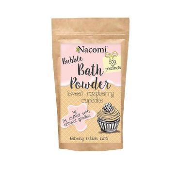 Nacomi Bath Powder – puder do kąpieli Sweet Raspberry Cupcake (150 ml)