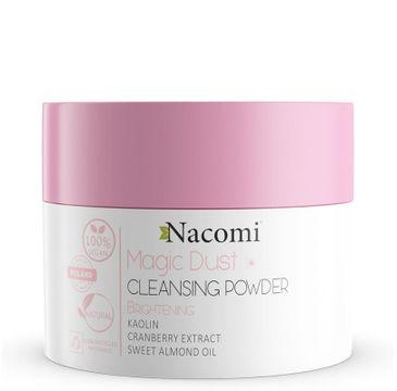 Nacomi Vegan Magic Dust Cleasing Powder – pyłek oczyszczająco-rozświetlający (20 g)