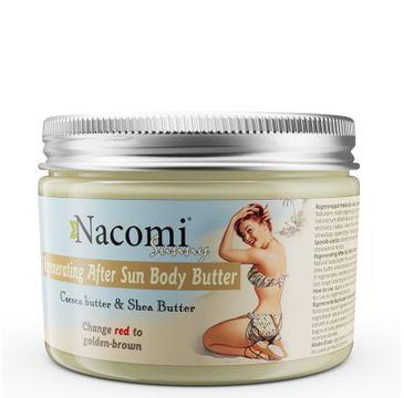 Nacomi – regenerujące masło do ciała po opalaniu (150 ml)