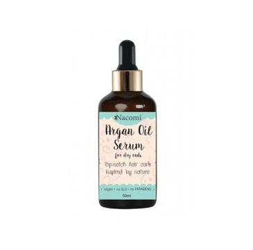 Nacomi Argan Oil Serum – serum do włosów z olejem arganowym (50 ml)