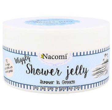 Nacomi Shower Jelly – galaretka do mycia ciała Summer in Greece (100 g)