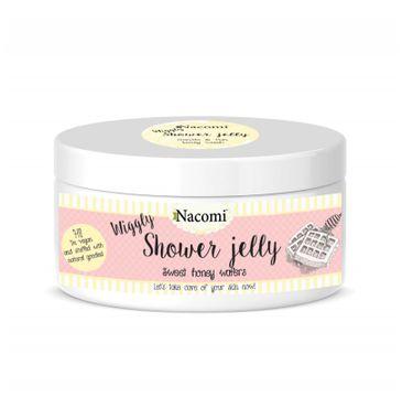 Nacomi Shower Jelly – galaretka do mycia ciała Sweet Honey Wafers (100 g)