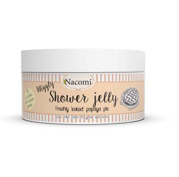 Nacomi Shower Jelly – galaretka do mycia ciała Freshly Baked Papaya Pie (100 g)