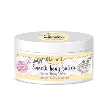 Nacomi Smooth Body Butter – masło do ciała Sweet Honey Wafers (100 g)