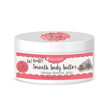 Nacomi Smooth Body Butter – masło do ciała Warming Moroccan Spices (100 g)