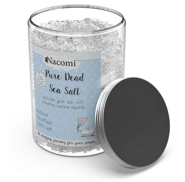 Nacomi Pure Dead Sea Salt – sól do kąpieli z Morza Martwego (1400 g)