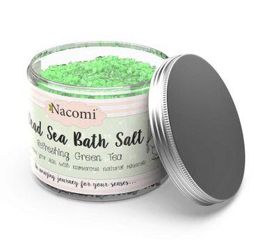 Nacomi Dead Sea Bath Salt – sól do kąpieli Refreshing Green Tea (450 g)