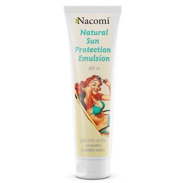 Nacomi Natural Sun Protection Emulsion SPF15 – emulsja do opalania (150 ml)