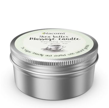 Nacomi Shea Butter Massage Candle – balsam w świecy do masażu (150 ml)