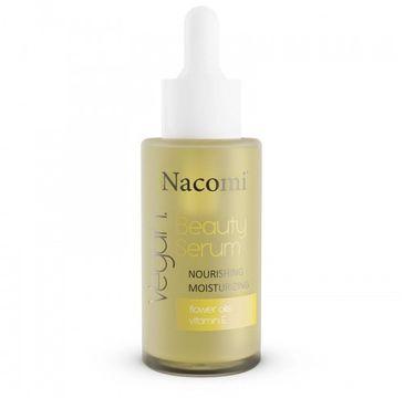 Nacomi Vegan Beauty Serum – serum odżywczo-nawilżające (40 ml)
