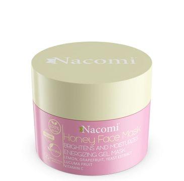Nacomi Vegan Honey Face Mask - maska miodowo-rozświetlająco-nawilżająca 50 ml