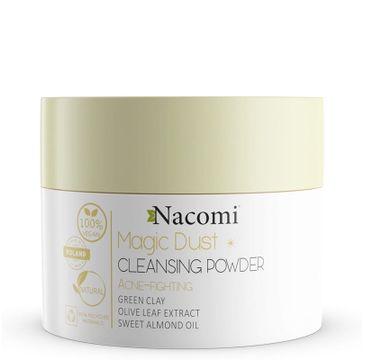 Nacomi Vegan Magic Dust Cleasing Powder – pyłek oczyszczająco-przeciwtrądzikowy (20 g)
