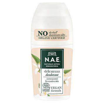 N.A.E Delicatezza Deodorant dezodorant w kulce z ekstraktem z kwiatu pomarańczy (50 ml)