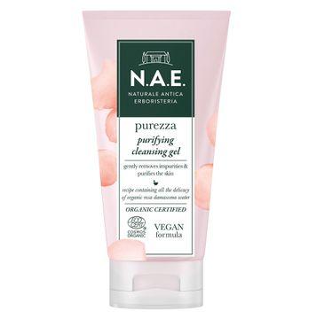 N.A.E. Purezza Purifying Cleansing Gel żel oczyszczający z organiczną wodą z róży damasceńskiej (150 ml)