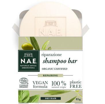 N.A.E. Riparazione Shampoo Bar szampon do włosów w kostce regenerujący (85 g)