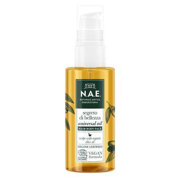 N.A.E. Segreto Di Bellezza Universal Oil olejek uniwersalny do piel臋gnacji w艂os贸w, cia艂a i twarzy (75 ml)