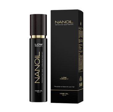 Nanoil Hair Oil Low Porosity olejek do włosów niskoporowatych (100 ml)