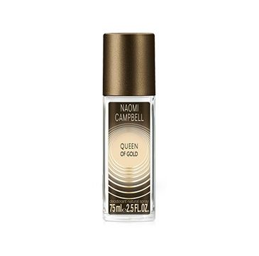 Naomi Campbell Queen of Gold perfumowany dezodorant spray szkło 75ml