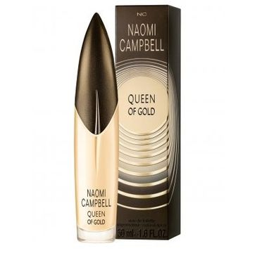 Naomi Campbell Queen of Gold woda toaletowa spray 50ml