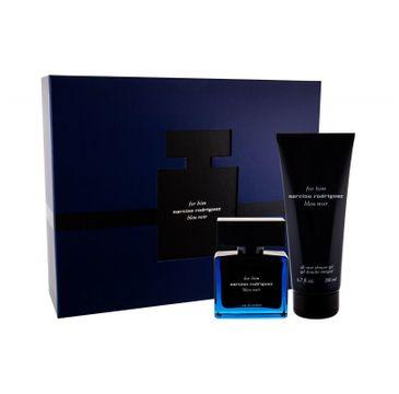 Narciso Rodriguez Bleu Noir zestaw woda perfumowana spray 50 ml + żel pod prysznic 200 ml