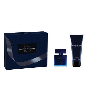 Narciso Rodriguez For Him Bleu Noir zestaw woda perfumowana spray 50ml + żel pod prysznic 200ml