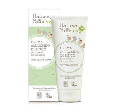 Natura Bella Baby – krem z cynkiem przeciw odparzeniom pieluszkowym (100 ml)