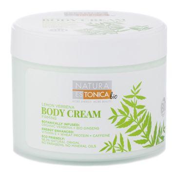 Natura Estonica Lemon Verbena Body Cream ujędrniający krem do ciała 300ml