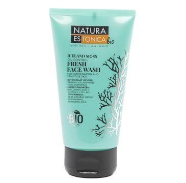 Natura Estonica Oil Control Face Wash od艣wie偶aj膮cy 偶el do mycia twarzy 150ml