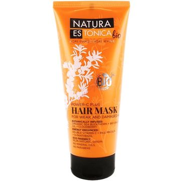 Natura Estonica Power-C Plus Hair Mask maska do włosów słabych i zniszczonych 200ml