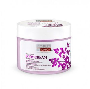 Natura Estonica Violet Rose Body Cream odmładzający krem do ciała 300ml